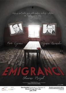 "Spektakl teatralny ""Emigranci"""