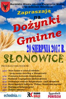 Kazimierskie Dożynki Gminne w Słonowicach