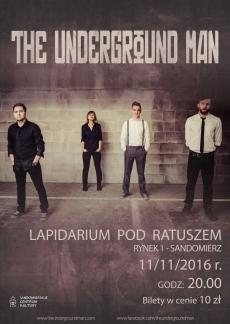 Koncert The Underground Man