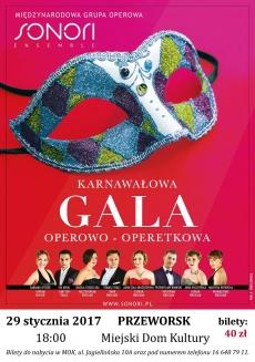 Karnawałowa gala operowo - operetkowa
