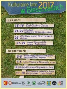 Kulturalne lato 2017 w Bieszczadach -  Bieszczadzkie Rockowisko