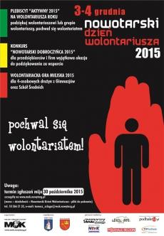 Nowotarski Dzień Wolontariusza 2015