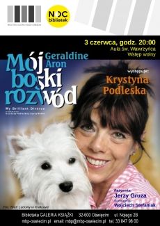"""""""Mój boski rozwód"""" monodram w wykonaniu Krystyny Podleskiej"""