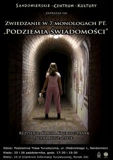 Podziemia świadomości. 7 kobiet. 7 monologów. 7 historii