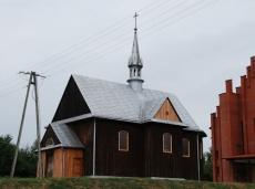 Kościół drewniany w Górkach