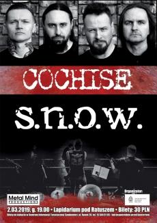 Koncert Cochise&S.N.O.W.