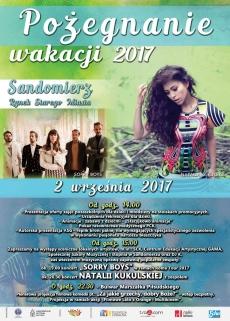Pożegnanie wakacji w Sandomierzu z Natalią Kukulską
