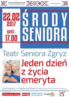 """Środy Seniora: """"Jeden dzień z życia emeryta"""""""