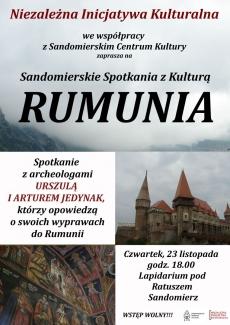 Sandomierskie Spotkania z Kulturą: Rumunia