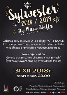 Skarżysko-Kamienna - SYLWESTER 2017/2018 na Placu Staffa
