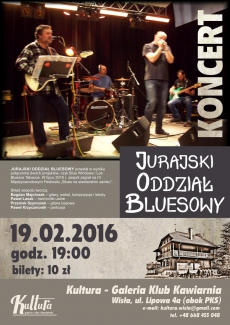 Koncert zespołu Jurajski Oddział Bluesowy