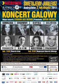 KIERUNEK ANDRYCHÓW – 250-lecie Andrychowa Koncert Galowy