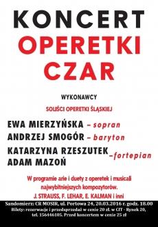 "Koncert ""Operetki czar"""
