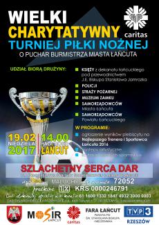 Wielki Charytatywny Turniej Piłki Nożnej w Łańcucie