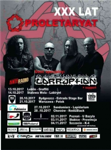 Koncert Proletaryat & Corruption