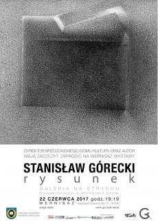Stanisław Górecki - RYSUNEK