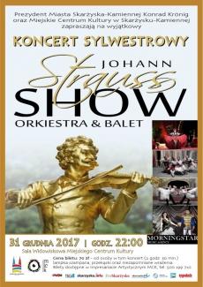 KONCERT SYLWESTROWY Johan Strauss SHOW ORKIESTRA & BALET