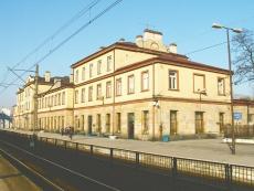 Dworzec kolejowy w Skarżysku-Kamiennej