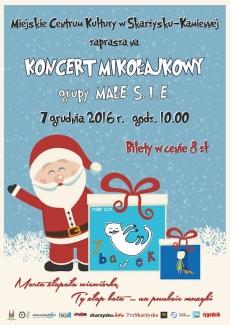Koncert Mikołajkowy grupy MAŁE S.I.E.