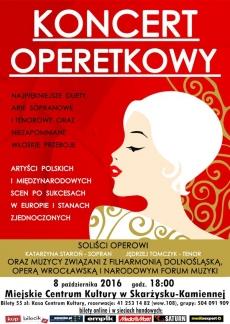 Koncert operetkowy w Skarżysku Kamiennej