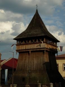 Drewniana dzwonnica Bazyliki św. Mikołaja w Bochni