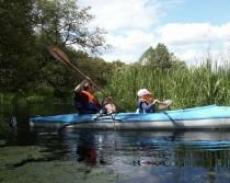 Spływ kajakowy rzeką Wel