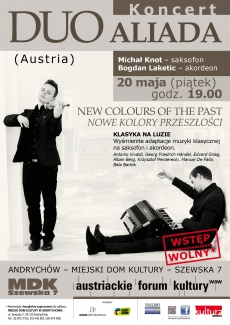 """DUO ALIADA (Austria) """"NEW COLOURS OF THE PAST"""" /""""NOWE KOLORY PRZESZŁOŚCI""""/"""