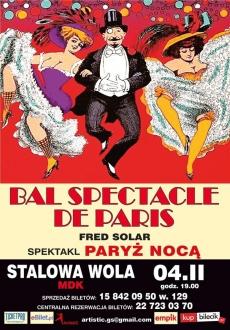 """""""Bal spectacle de Paris"""" – spektakl """"Paryż nocą"""""""