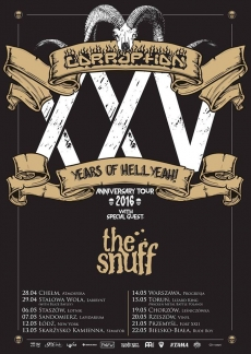 Jubileuszowa trasa Corruption – XXV Years of Hellyeah!