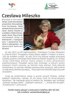 Lokalni twórcy - Czesława Mileszko