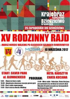 XV Rodzinny Rajd po Olkuskich Szlakach rowerowych oraz Marsz Nordic Walking