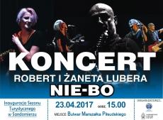 Koncert zespołu NIE – BO, Robert & Żaneta Lubera