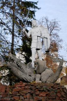 Pomnik św. Michała Archanioła