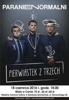 """PARANIENORMALNI w programie """"PIERWIASTEK Z TRZECH"""""""
