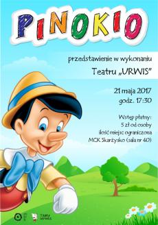 Przedstawienie PINOKIO w wykonaniu Teatru URWIS