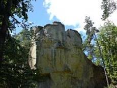 Kamień Leski w Glinnem