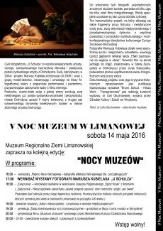 Noc Muzeum w Limanowej