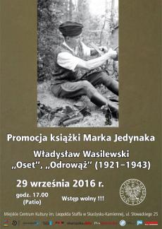 Promocja książki Marka Jedynaka