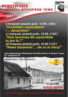 """Nowotarski Klub Miłośników Filmów """"Milczenie owiec"""""""