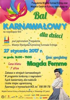 Bal Karnawałowy dla dzieci w MCK