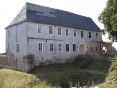 Pozostałości zamku krzyżackiego w Morągu