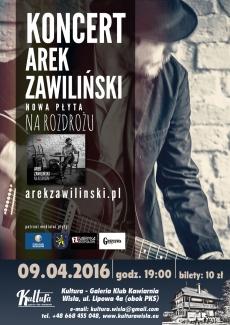 Koncert Arka Zawilińskiego