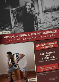 "Koncert Michał Wierba & Ronnie Burrage - ,,Holographic Principle"""