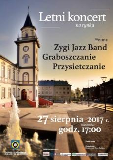 Letni koncert na brzozowskim Rynku
