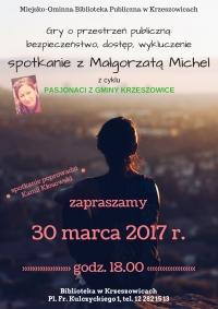 Spotkanie z Małgorzatą Michel