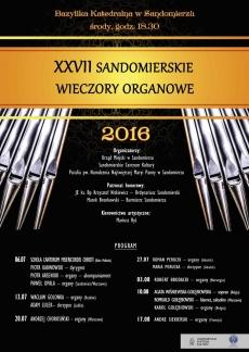 XXVII Sandomierskie Wieczory Organowe