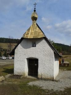 Kapliczka tzw. Mała Cerkiewka w Białej Wodzie