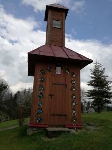 Kapliczka na osiedlu Wójcikówka