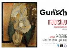 wernisaż wystawy malarstwa  Edmunda Gunscha