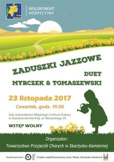Zaduszki Jazzowe - Koncert Duetu Myrczek & Tomaszewski